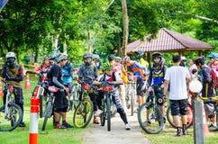 Série 2014 de la Thaïlande Enduro Image libre de droits