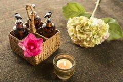 Série de massage Photo stock