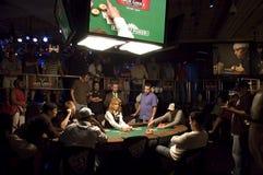 Série de mundo de tabela caracterizada póquer