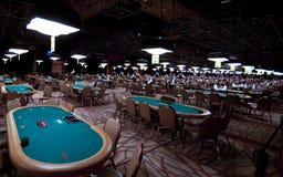 Série de mundo do póquer (WSOP) em Rio Imagens de Stock