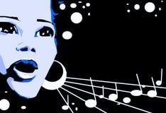 série de musique de jazz Images stock