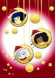 Série de Noël - enfants Images libres de droits