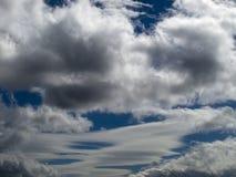 Série 4 de nuage Photographie stock libre de droits
