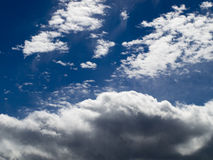 Série 2 de nuage Images libres de droits