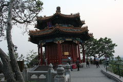 Série de parc de Pékin Jinshan de pacilion aromatique Image libre de droits
