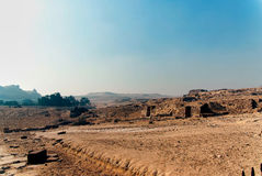Série de photos des monuments célèbres et d'endroits de l'Egypte Image stock