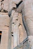 Série de photos des monuments célèbres et d'endroits de l'Egypte Photographie stock