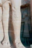 Série de photos des monuments célèbres et d'endroits de l'Egypte Photos stock