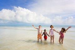 Série de plage - diversité Photo libre de droits