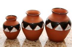 Série de poterie photographie stock