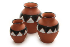 Série de poterie image stock