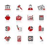 Série de // Redico d'affaires et de finances Images stock