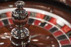 série de roulette de tisonnier de puces de casino Images stock