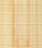 Série de texture : Couvre-tapis en bambou image libre de droits
