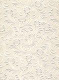 Série de texture - fleurs gravées en relief photographie stock libre de droits
