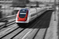 Série de train photographie stock