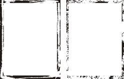Série de trame et de cadres Images stock
