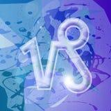 Série de zodiaque - Capricorne illustration de vecteur