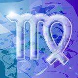 Série de zodiaque - Vierge illustration libre de droits