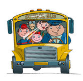 Série do auto escolar - 1 ilustração royalty free