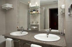 Série do banheiro fotografia de stock