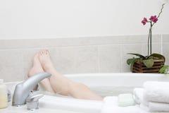 Série do banho. Pés II Fotos de Stock Royalty Free