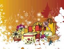 Série do feriado de inverno ilustração do vetor
