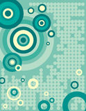 Série do fundo do círculo ilustração stock