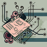 Série do fundo do computador Imagens de Stock