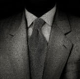 A série do homem no preto Imagens de Stock Royalty Free