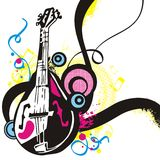 Série do instrumento de música imagem de stock royalty free