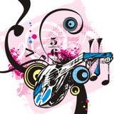 Série do instrumento de música Imagem de Stock