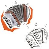 Série do instrumento de música Fotografia de Stock Royalty Free