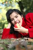Série do outono da beleza Fotos de Stock Royalty Free