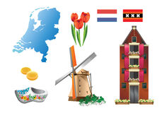 Série do país 1 Países Baixos do â Foto de Stock Royalty Free