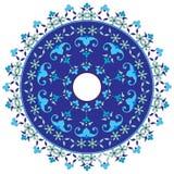 Série do projeto dos motivos do otomano com cinqüênta Fotografia de Stock Royalty Free