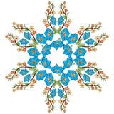 Série do projeto dos motivos do otomano com quarenta e oito Fotos de Stock Royalty Free