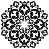 Série do projeto dos motivos do otomano com treze Foto de Stock