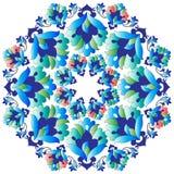 Série do projeto dos motivos do otomano com versão treze Imagem de Stock Royalty Free