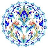 Série do projeto dos motivos do otomano com vinte Foto de Stock
