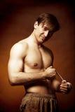 Série dos homens do lutador Fotos de Stock Royalty Free