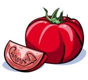 Série dos vegetais: tomates Fotografia de Stock Royalty Free
