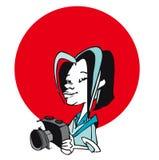 Série du travail - photographe Images libres de droits