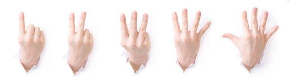Série : Ensemble de signes ! Photos stock