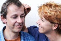 Série feliz dos pares Imagens de Stock Royalty Free