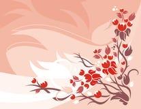 Série floral do fundo Foto de Stock Royalty Free