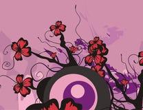 Série floral do fundo Imagem de Stock
