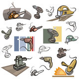 Série fraîche d'objet illustration stock