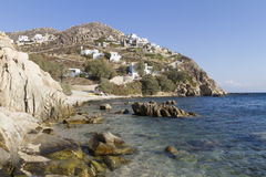 Série grega dos consoles - Mykonos Fotos de Stock