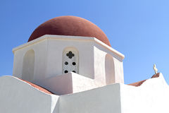 Série grega dos consoles - Mykonos Imagem de Stock Royalty Free